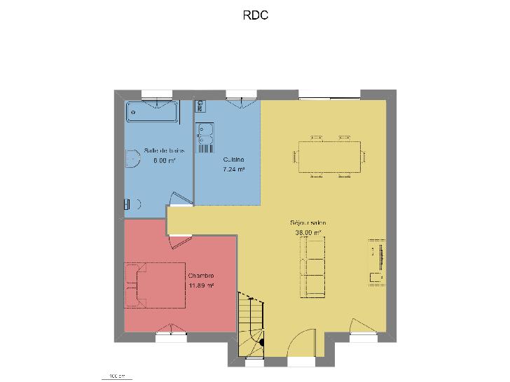 Plan de maison NOBLE : Vignette 1