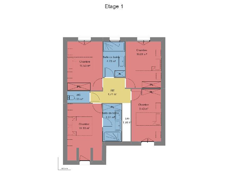 Plan de maison PLAISANTE : Vignette 2