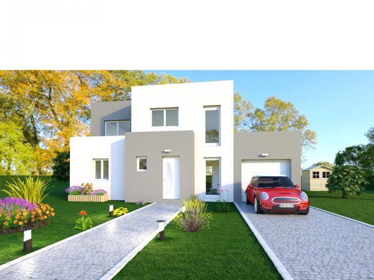 Modèle de maison NOBLE AVEC GARAGE : Vignette 1
