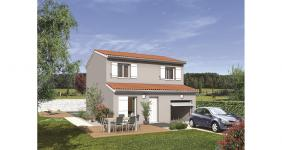 Annoisin-Chatelans (38460)Terrain + Maison