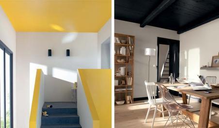 Conseils peinture maisons punch for Conseil peinture plafond