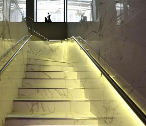 Escalier Atrium Spa & Beauté