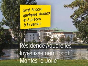 Disponibles avec service location studios neufs loi Pinel, 78200 Mantes-la-Jolie