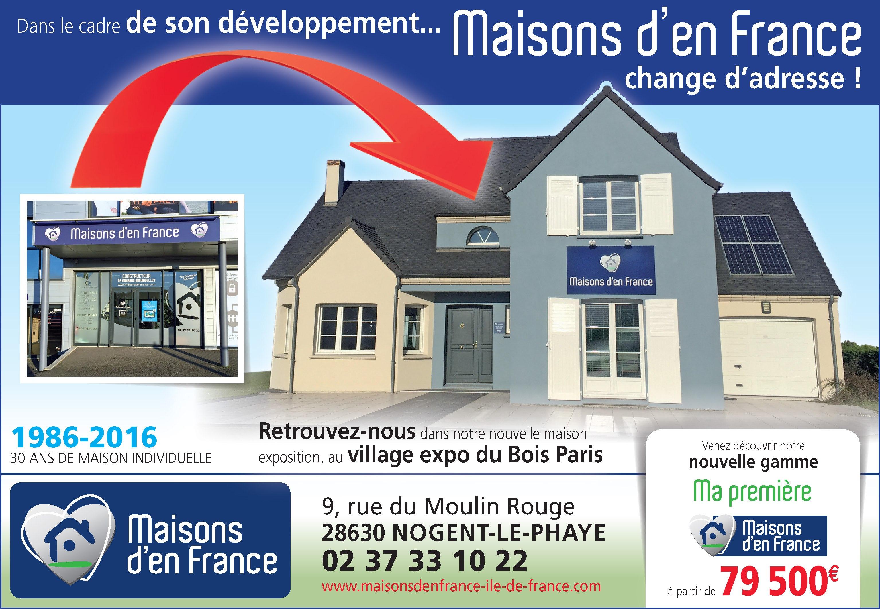 Notre Agence De Nogent Déménage Maisons Den France ÎledeFrance - Maison individuelle ile de france