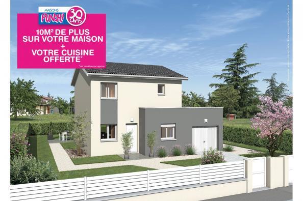 Maison TANGO - Saint-Romain-de-Popey (69490)