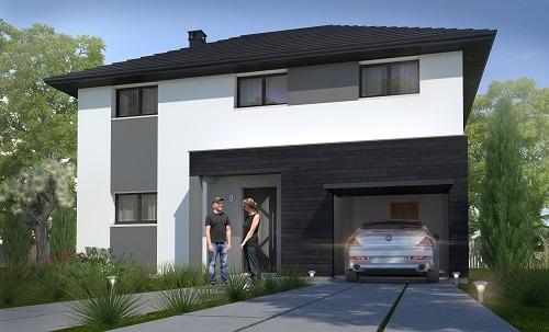 Offre maison terrain à Clairoix 60200 pour 210 650 €