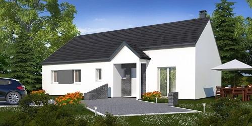 Maison + terrain à CREPY-EN-VALOIS 60800 dans l'OISE