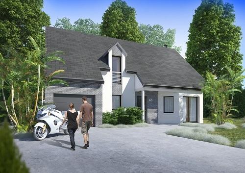 Offre maison terrain à Sacy-le-Grand 60700 pour 246 455 €