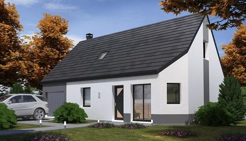 Offre maison terrain à Arsy 60190 pour 201 600 €