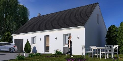 Maison + terrain à AUFFARGIS (78610) dans les YVELINES