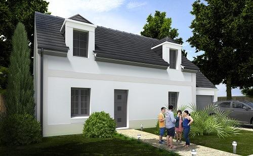 Maison + terrain à AULNOY (77120) dans la SEINE-ET-MARNE