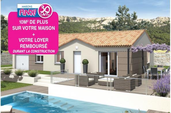 Maison MEZZO - VERSION SUD - Beauvoisin (30640)