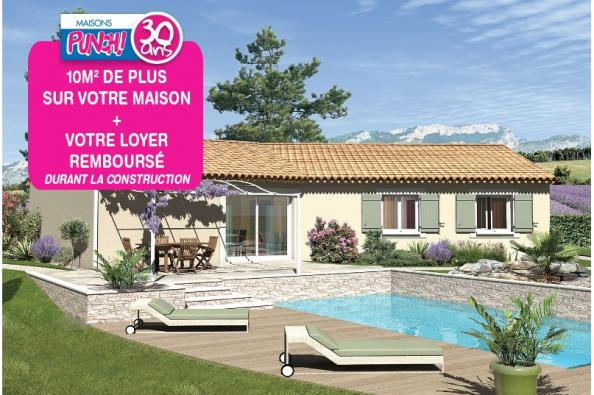Maison SAMBA - VERSION SUD - Cabrières-d'Avignon (84220)