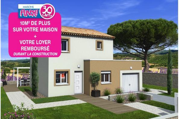 Maison TANGO - VERSION SUD - Montségur-sur-Lauzon (26130)