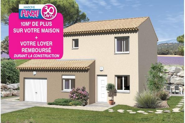 Maison ZUMBA - VERSION SUD - Saint-Victor-la-Coste (30290)