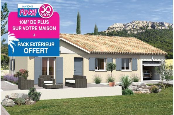 Maison MACARENA - VERSION SUD - Saint-Bauzille-de-Montmel (34160)