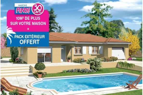 Maison MILONGA EN L - Orange (84100)