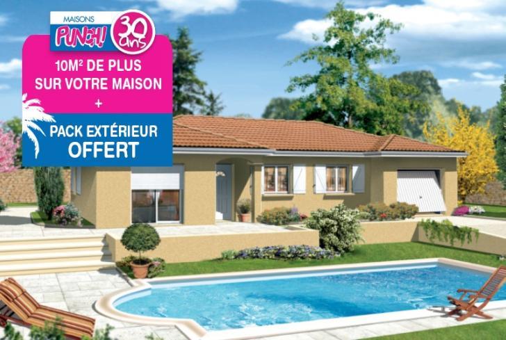 Plan de maison - MILONGA EN L