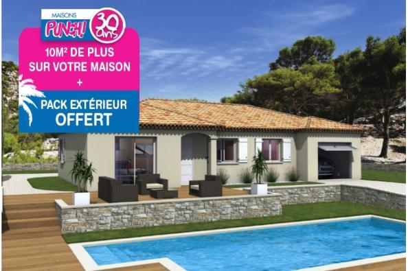 Maison MILONGA EN U - VERSION SUD - Saint-Chaptes (30190)