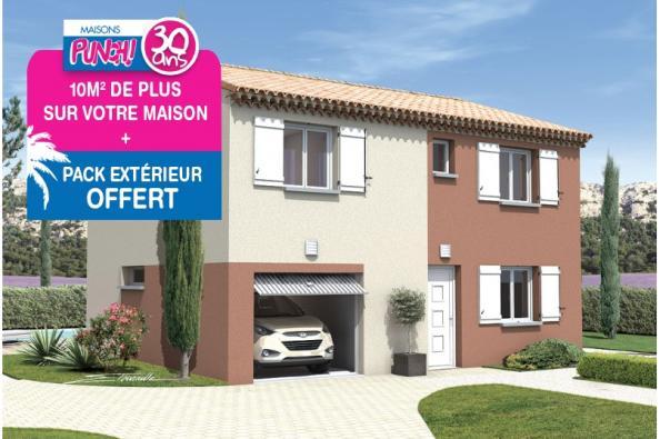 Maison REGGAE - VERSION SUD - Saint-Paul-Trois-Châteaux (26130)