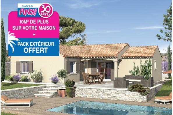 Maison SEGA - VERSION SUD - Cabrières (30210)