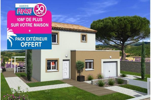Maison TANGO - VERSION SUD - Les Granges-Gontardes (26290)