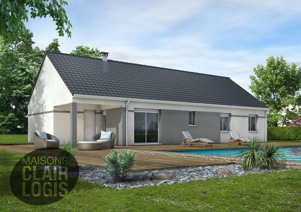 Recherche maison neuve ou maison individuelle 82200 for Prix maison 90m2