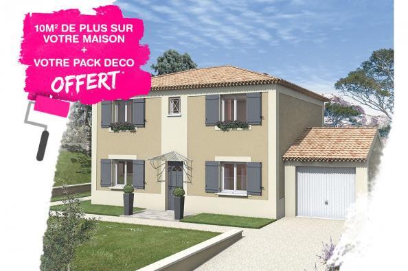 Maison BALADI - VERSION SUD - Saint-Montan (07220)