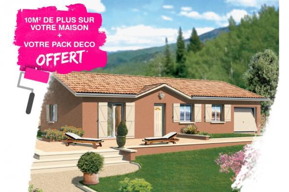 Maison MEZZO - Montrevel-en-Bresse (01340)