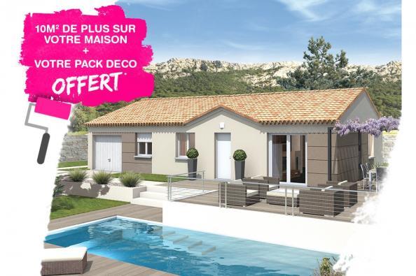 Maison MEZZO - VERSION SUD - Saint-Marcel-d'Ardèche (07700)