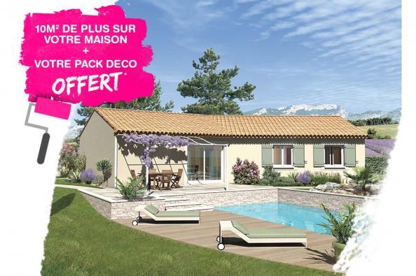 Maison SAMBA - VERSION SUD - Saint-Marcel-d'Ardèche (07700)