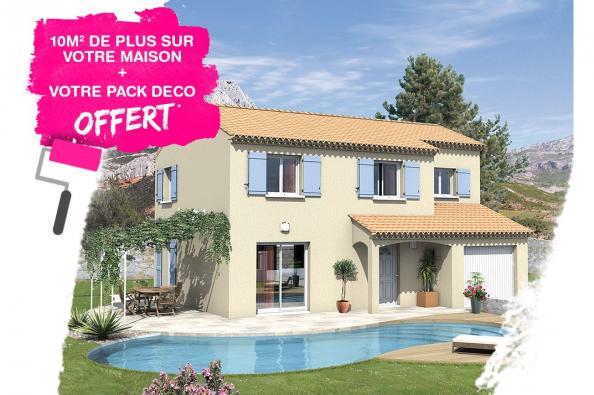 Maison SALSA - VERSION SUD - Sérignan-du-Comtat (84830)