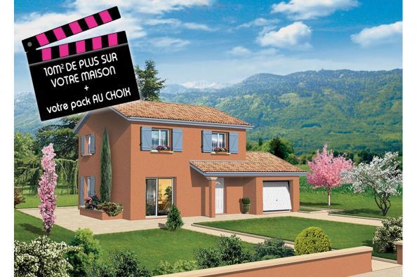 Maison SALSA - Saint-Jean-sur-Reyssouze (01560)