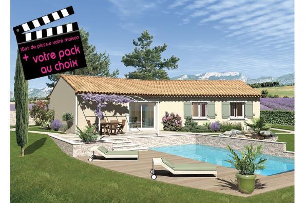 Maison SAMBA - VERSION SUD - Bagnols-sur-Cèze (30200)
