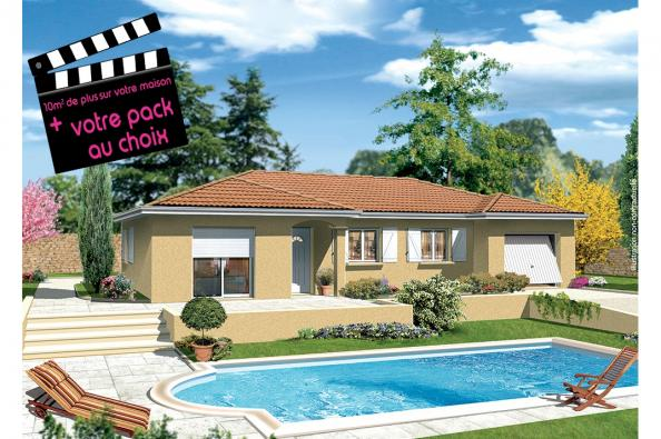Maison MILONGA EN L - Torchefelon (38690)