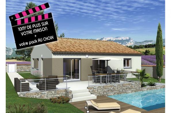 Maison LIMBO  - VERSION SUD - Bollène (84500)