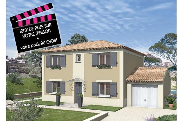 Maison BALADI - VERSION SUD - Bourg-Saint-Andéol (07700)