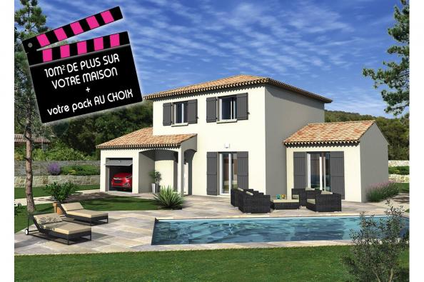 Maison BALBOA - VERSION SUD - Barjac (30430)