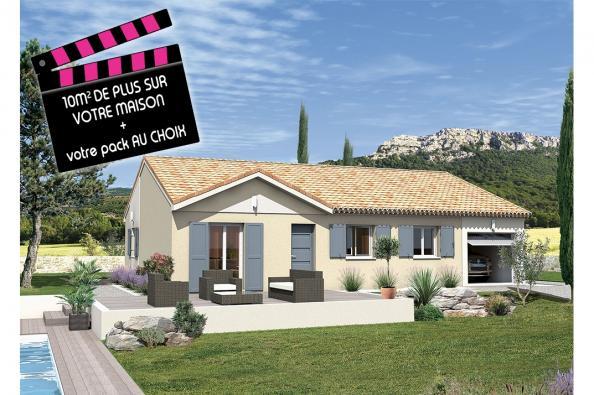 Maison MACARENA - VERSION SUD - Rochefort-du-Gard (30650)