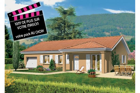 Maison LAMBADA - Montalieu-Vercieu (38390)