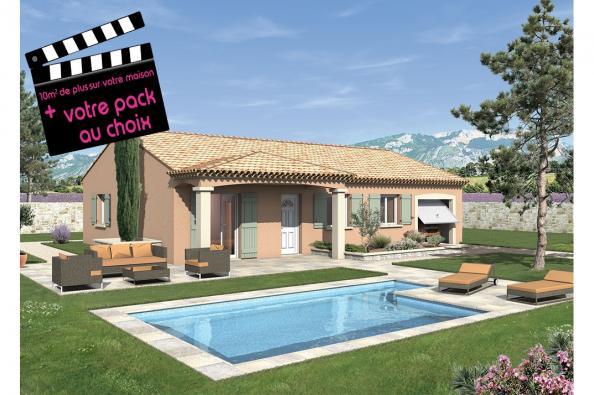 Maison LAMBADA - VERSION SUD - Bourg-Saint-Andéol (07700)