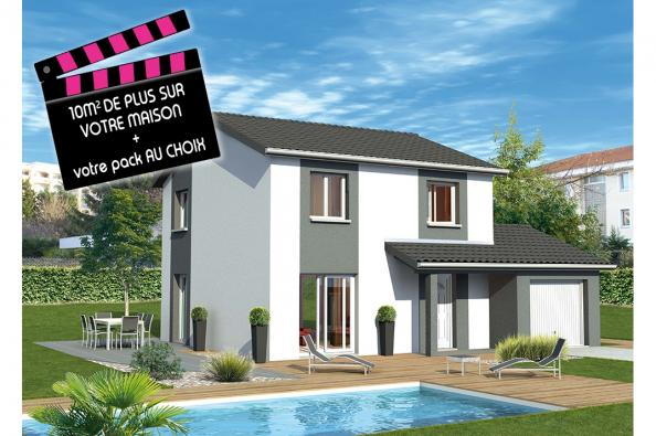Maison CAPOEIRA - Montagnat (01250)