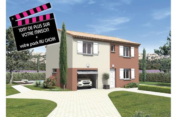 Maison REGGAE - Rochefort-du-Gard (30650)