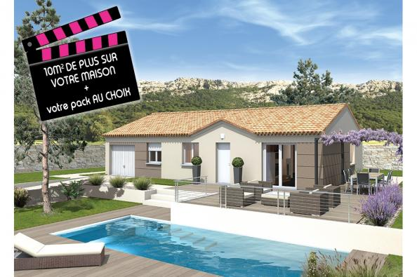 Maison MEZZO - VERSION SUD - Laudun-l'Ardoise (30290)