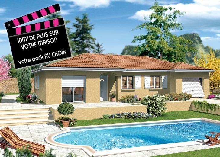 Plan de maison - MILONGA EN U