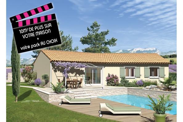 Maison SAMBA - VERSION SUD - Sérignan-du-Comtat (84830)