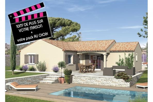Maison SEGA - VERSION SUD - Villevieille (30250)