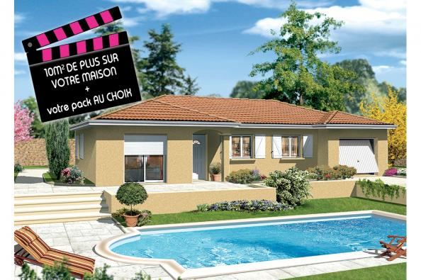 Maison MILONGA EN L - Crêches-sur-Saône (71680)
