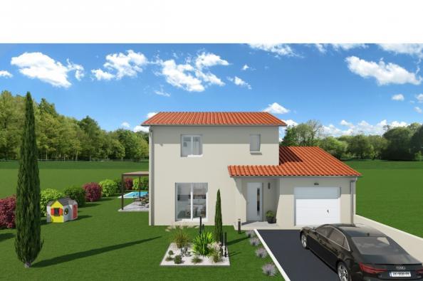 Maison CAPOEIRA - Toussieux (01600)