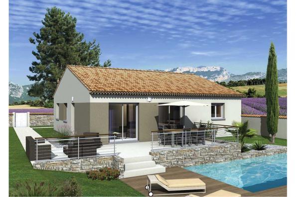 Maison LIMBO  - VERSION PACA - Cabrières (30210)